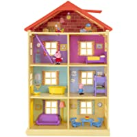 Peppa P0757 Peppa's droomhuis speelset met 2 exclusieve figuren: Peppa en Schorsch met accessoires voor kinderen vanaf 2…