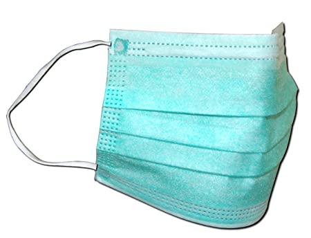 Disposable Pack Infection Face Dust Of 50 Surgical Mask