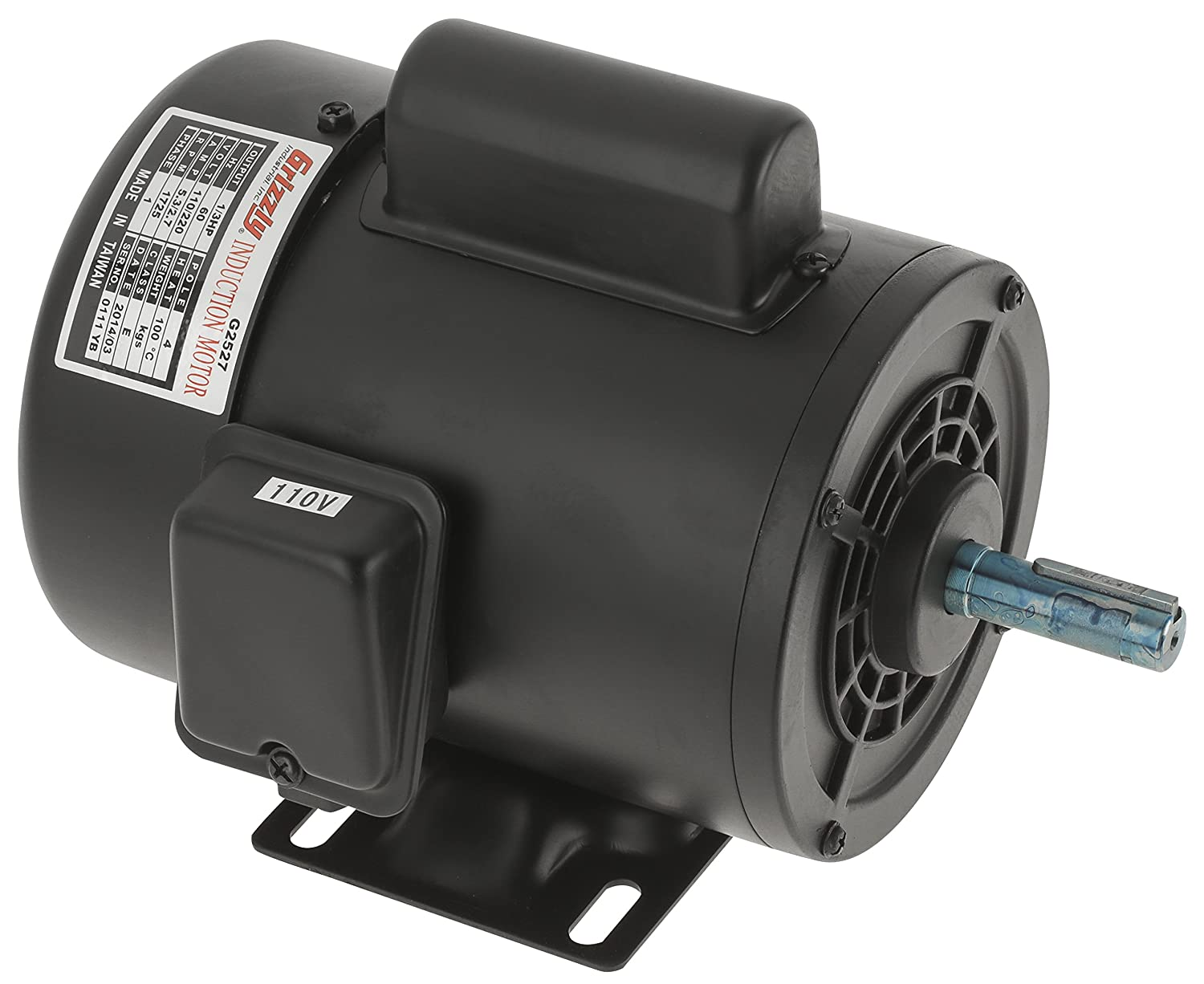 810m0v2teVL._SL1500_ grizzly g2527 single phase motor electric fan motors amazon com g2905 wiring diagram at panicattacktreatment.co