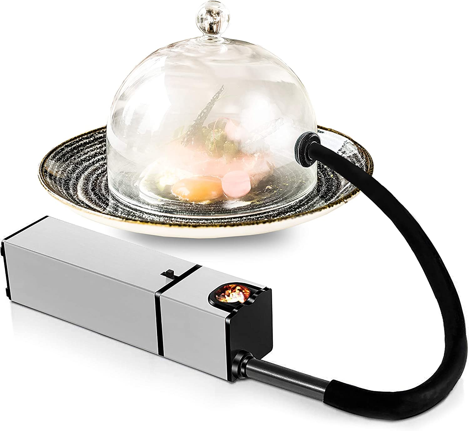 Chefhut Portable Smoke Infuser Handheld Cold Smoking Gun Indoor Mini Food Smoker for Meat, Cocktail, Drinks, BBQ