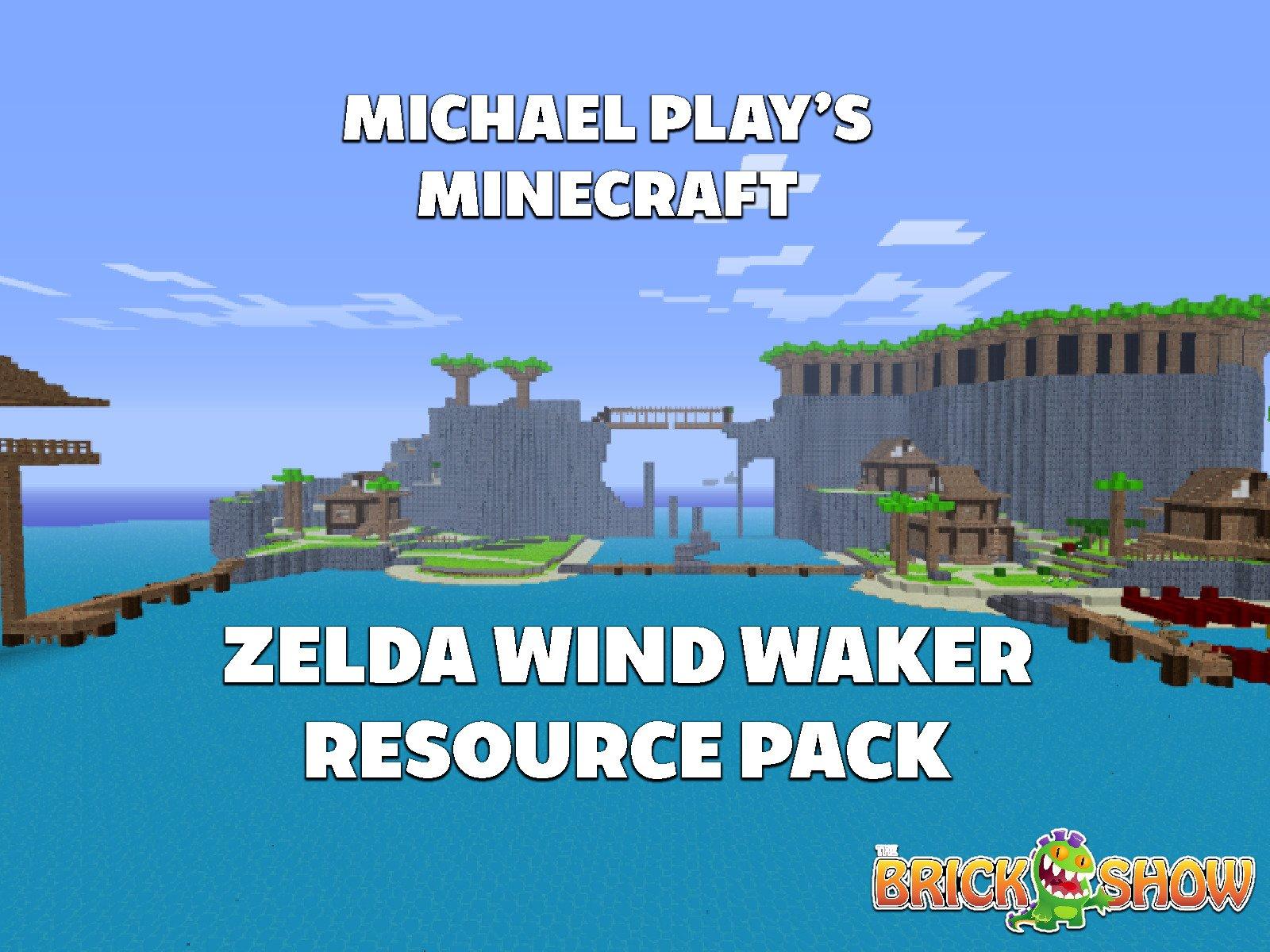 Amazon com: Watch Clip: Michael Play's Minecraft Zelda Wind Waker