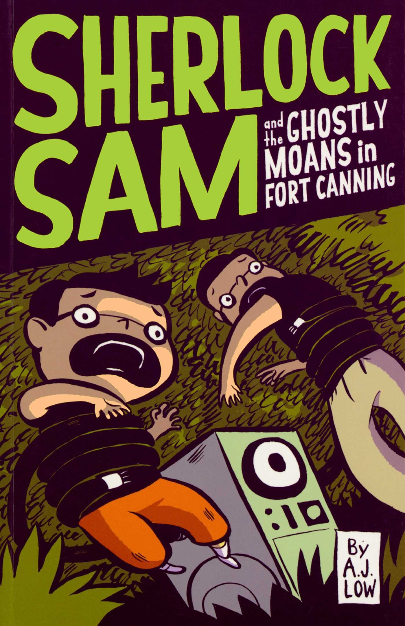 Download Sherlock Sam and the Ghostly Moans in Fort Canning: book two pdf