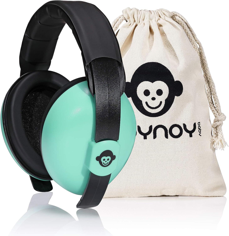 Protecci/ón auditiva para beb/és de 0/a 2/a/ños roynoy protecci/ón ac/ústica orejeras anti-ruido Rosa