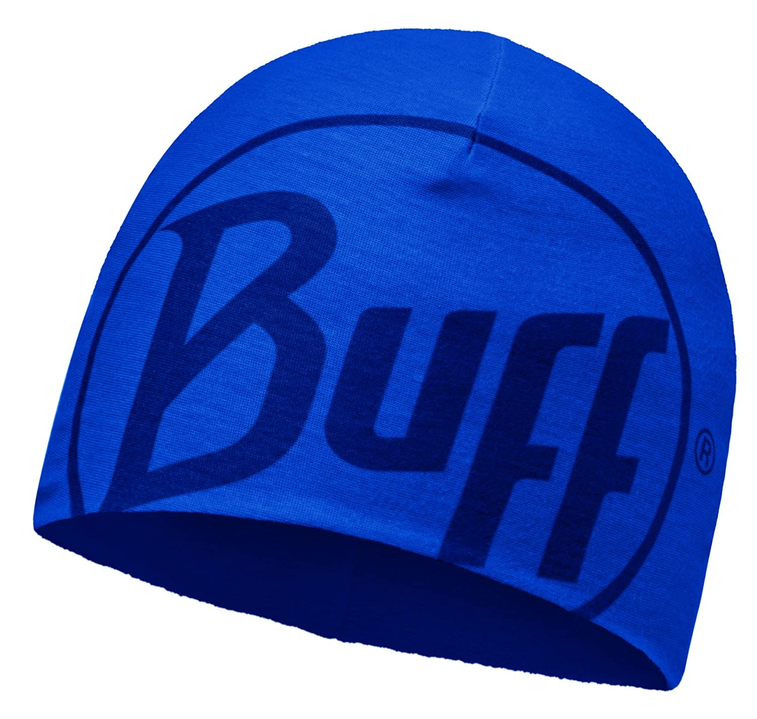 Original Buff Microfibra & Polar Gorro Buff Logo Azul Skydiver - Polar Gorro Buff para Unisex, Color Multicolor, Adulto S.A 111400.703.10.00