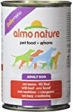 Almo Nature Dog Food Daily Menu with Beef, Pack of 24 x 400g