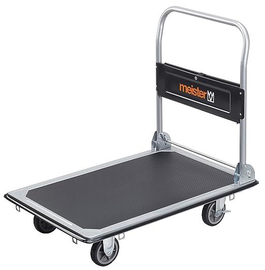31 opinioni per Meister, Carrello trasportatore, portata massima 300 kg, pieghevole- 8985540