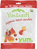 YumEarth Organic Wild Peppermint Candy Drops, 13 Ounce Pouches (Pack of 4)
