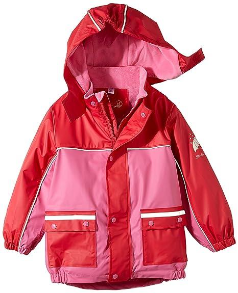 5d853c08e Sterntaler Unisex Baby Fleece Lining Cape Short Sleeve Raincoat ...