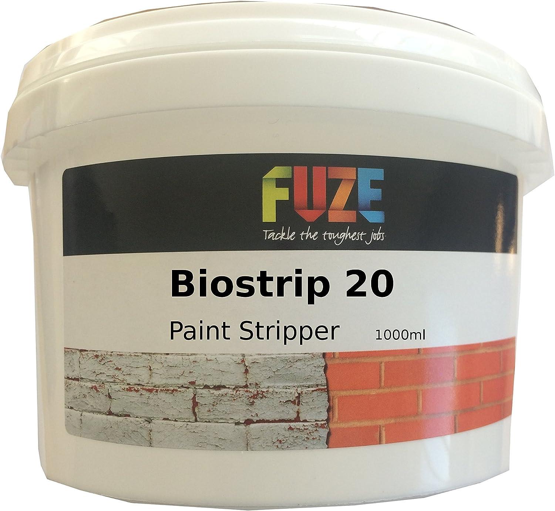 Biostrip 20 Peinture Stripper 1 litre, Décapant. Solution à base d ...