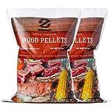 Z GRILLS Flavor 100% All-Natural No Blending American Oak Hard Grill, Smoke, Bake, Roast, Braise & BBQ Wood Pellet, 2 Packs T