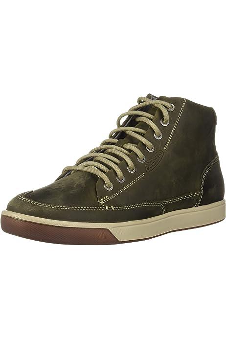 KEEN Men's Glenhaven Sneaker MID, Steel