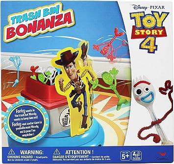 Toy Story Disney Pixar 4 Trash Bin Bonanza Game: Amazon.es: Juguetes y juegos