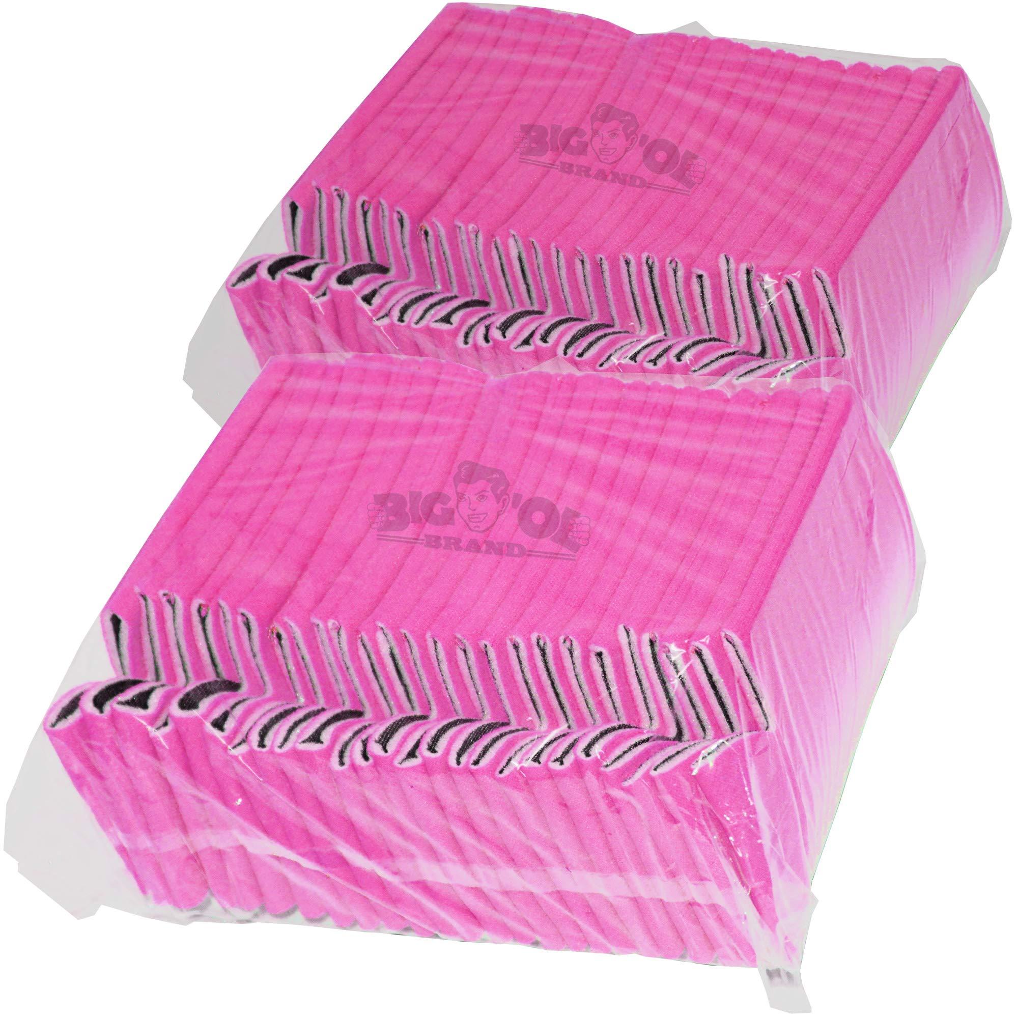 Big Ol' 50 Premium Blank Beverage Coolers (Hot Pink) by Big Ol'