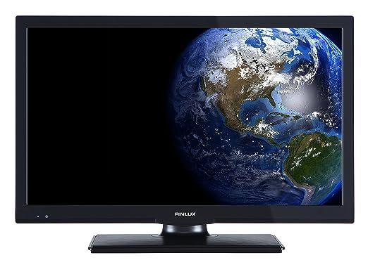 Finlux FL2022-51 cm (20 Zoll) LED-Fernseher/LED TV/Flachbildschirm Fernseher   USB   HDMI und integriertem DVB-T-Tuner   Ener
