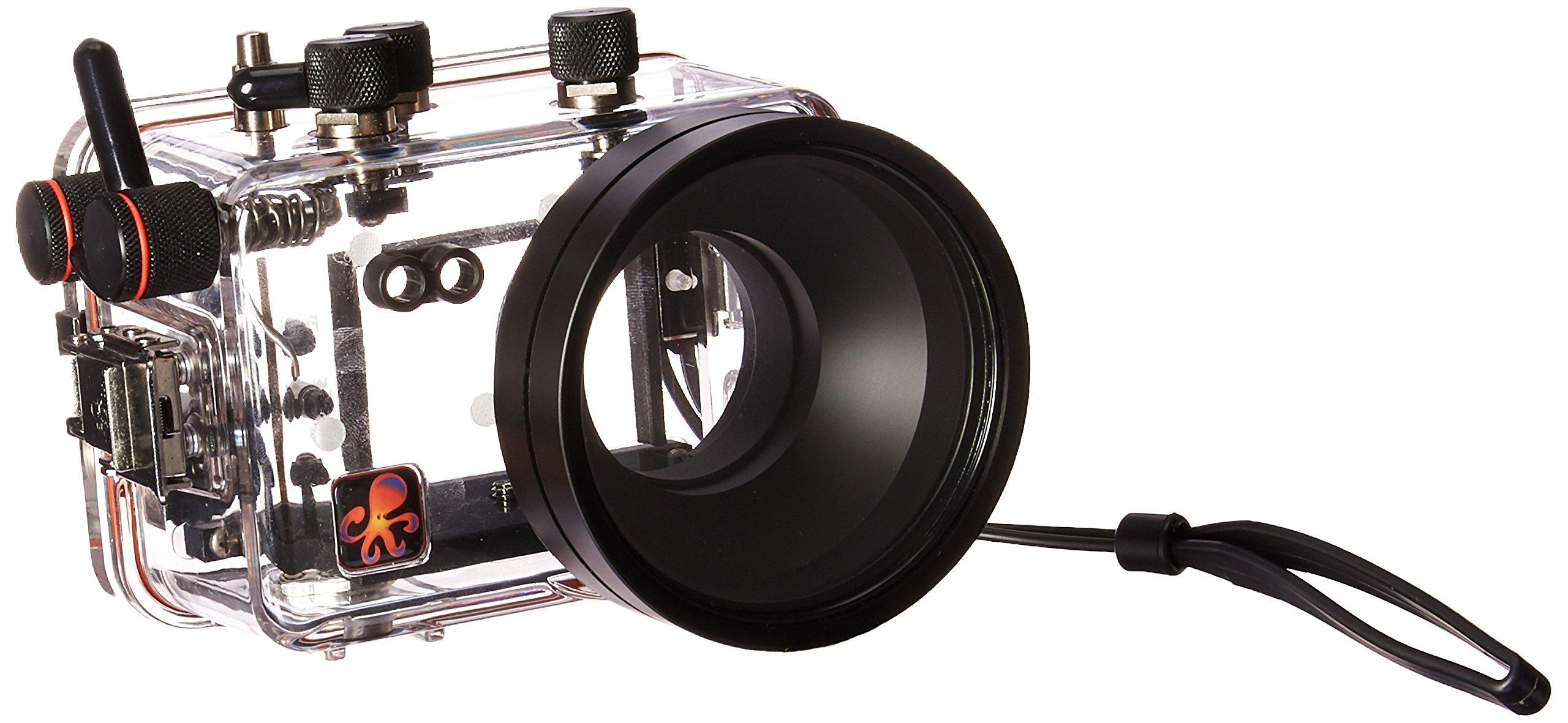 Ikelite 6170.40 Underwater Camera Housing for Panasonic ZS40 / TZ60 Digital Camera, Clear