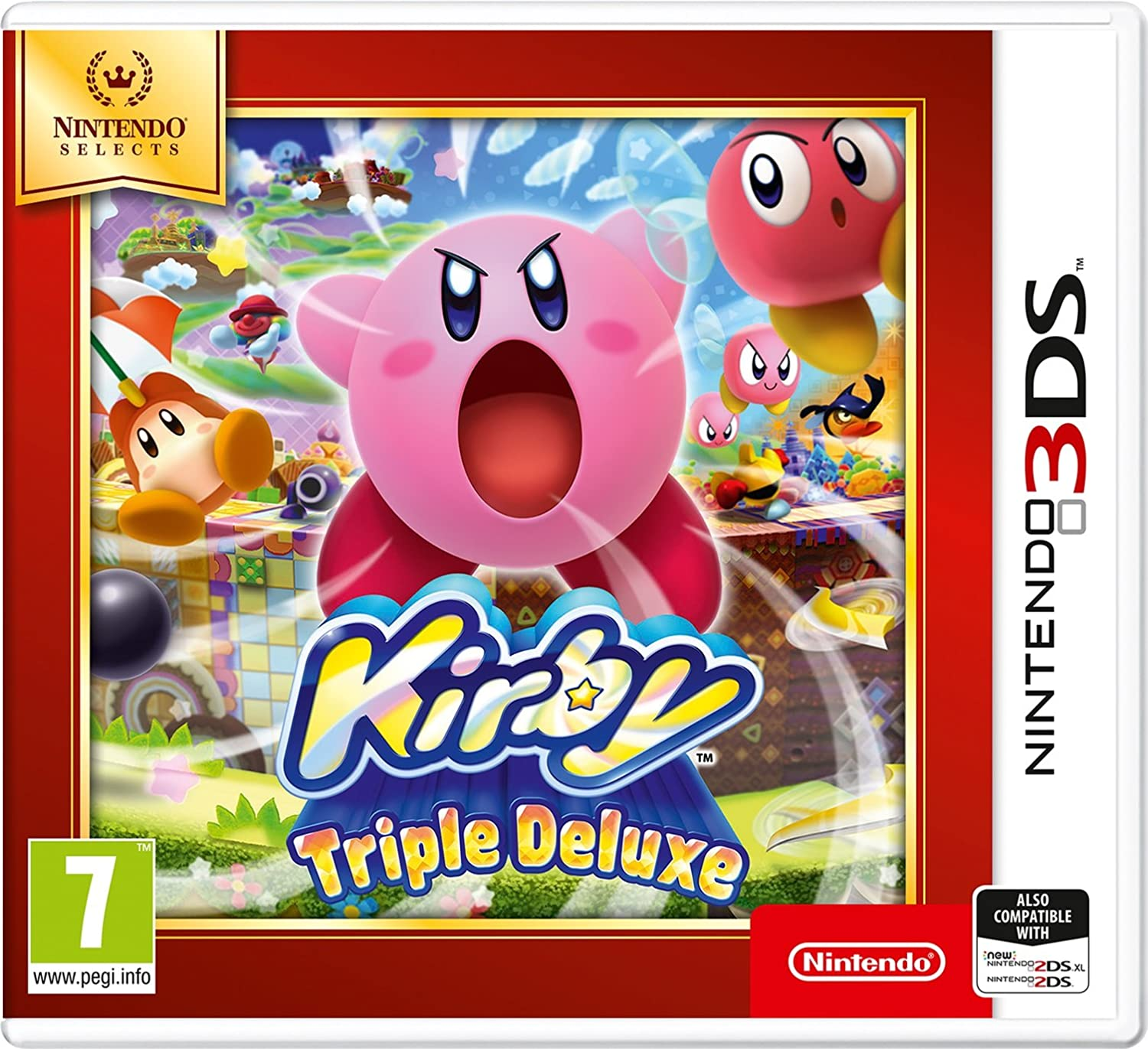 Nintendo Selects - Kirby Triple Deluxe Selects - Nintendo 3DS ...