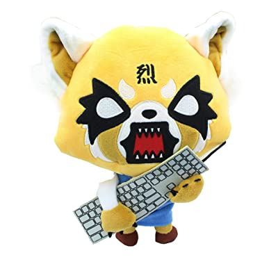 GUND Aggretsuko Rage Sound Plush, 12: Toys & Games