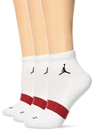 Nike Michael Jordan DRI-FIT Low QTR. 3PPK Pack 3 Pares Calcetines, Hombre