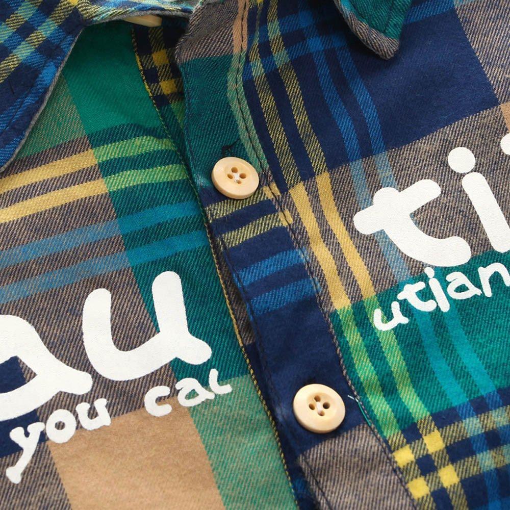 Jeans Lange Hosen Yanhoo Unisex Baby 2 St/ück Bekleidungsset Kinder Jungen M/ädchen Winter Hemden Cord Corduroy Langarm Pullover Sweatshirt T-Shirt Top