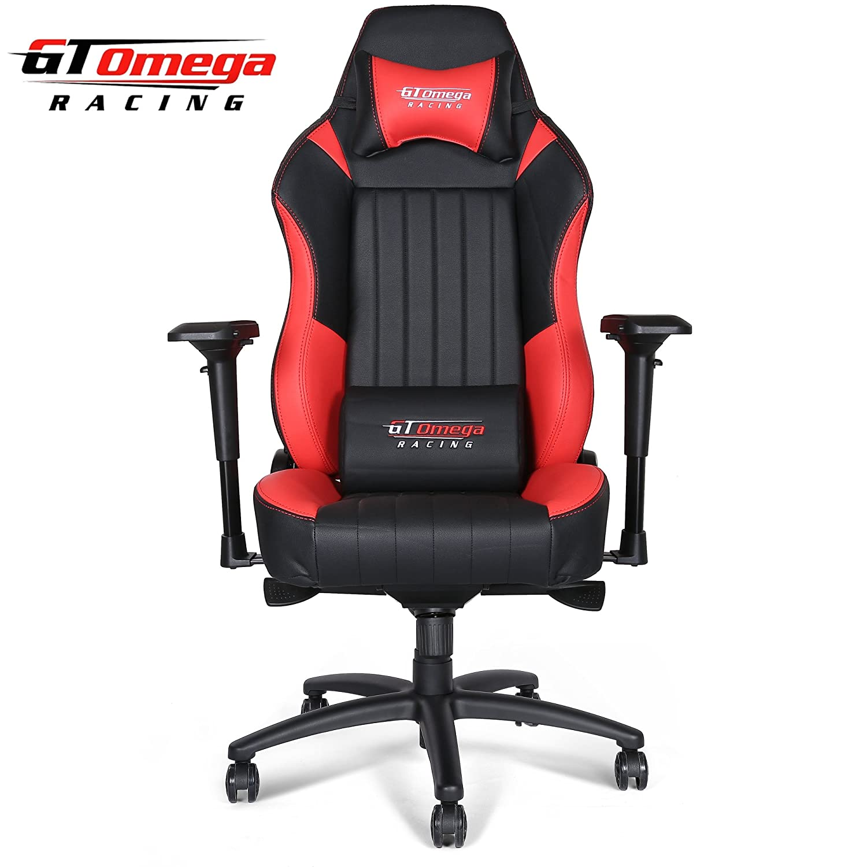 Amazon GT Omega EVO XL Racing fice Chair Black Leather