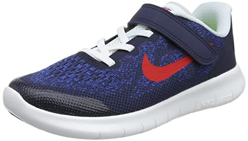 Nike Free Rn 2017 (psv) Zapatillas de Running Niños, Azul (Obsidian/University Red/Racer Blue/Photo 405), 34 EU: Amazon.es: Zapatos y complementos