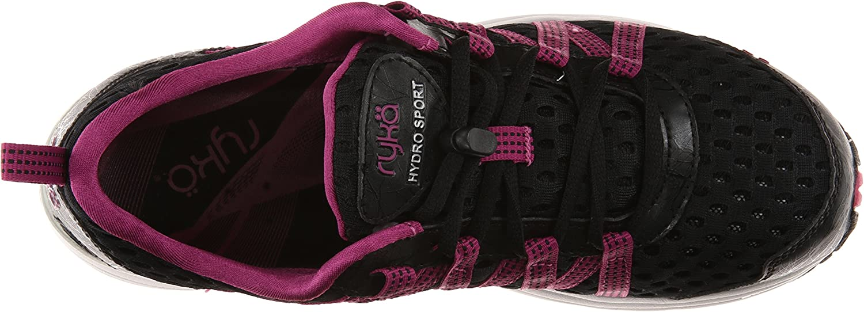 RYKA Hydro Sport, Hydro Sport Cross Trainer, Chaussures Aquatiques. Femme Black Berry Chrome Silver