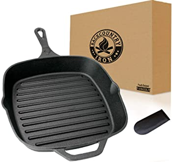 Backcountry Cast Iron Square Grill