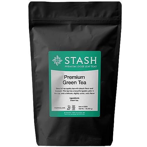 Stash Tea Premium Green Loose Leaf Tea