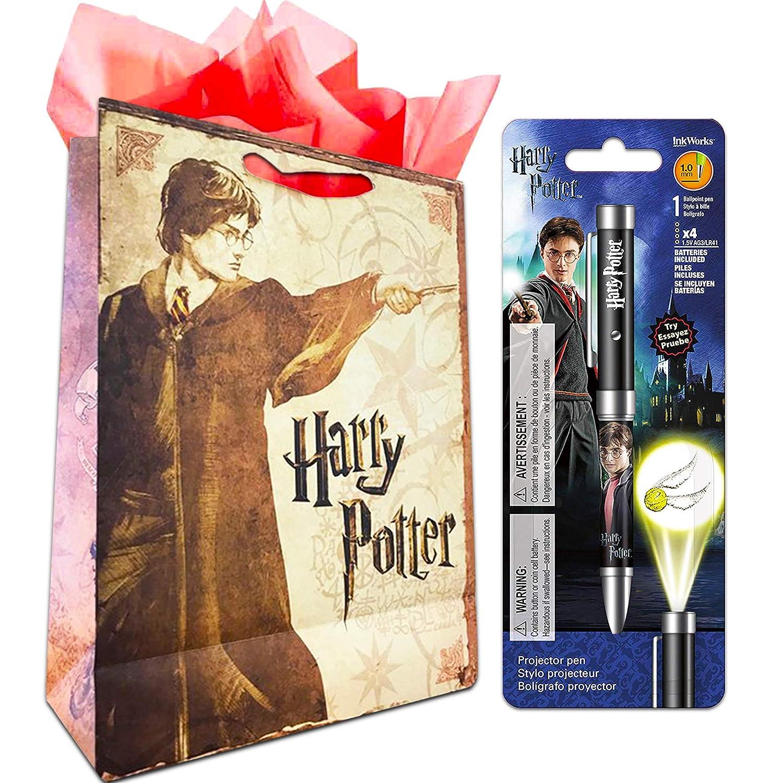 Amazon.com: Harry Potter Snitch Dorada Proyector Pluma ...