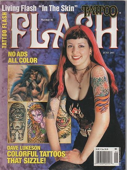 Amazon.com : Tattoo Flash (magazine), no. 45 (June 2001) (Dave ...