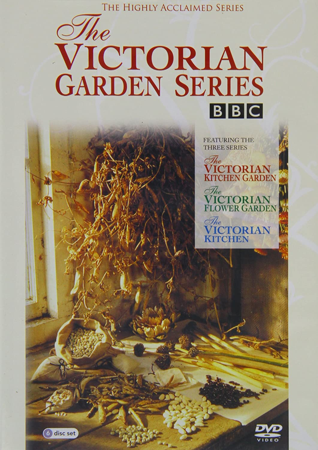 Victorian Kitchen Garden Dvd The Victorian Garden Series Dvd Amazoncouk Dvd Blu Ray