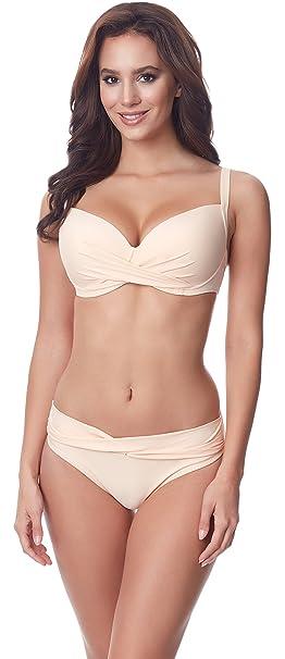 Merry Style Bikini Bañadores Traje de Baño Conjunto Tops Sujetador y Bragas Braguitas Ropa Verano Mujer P654-25TSG: Amazon.es: Ropa y accesorios