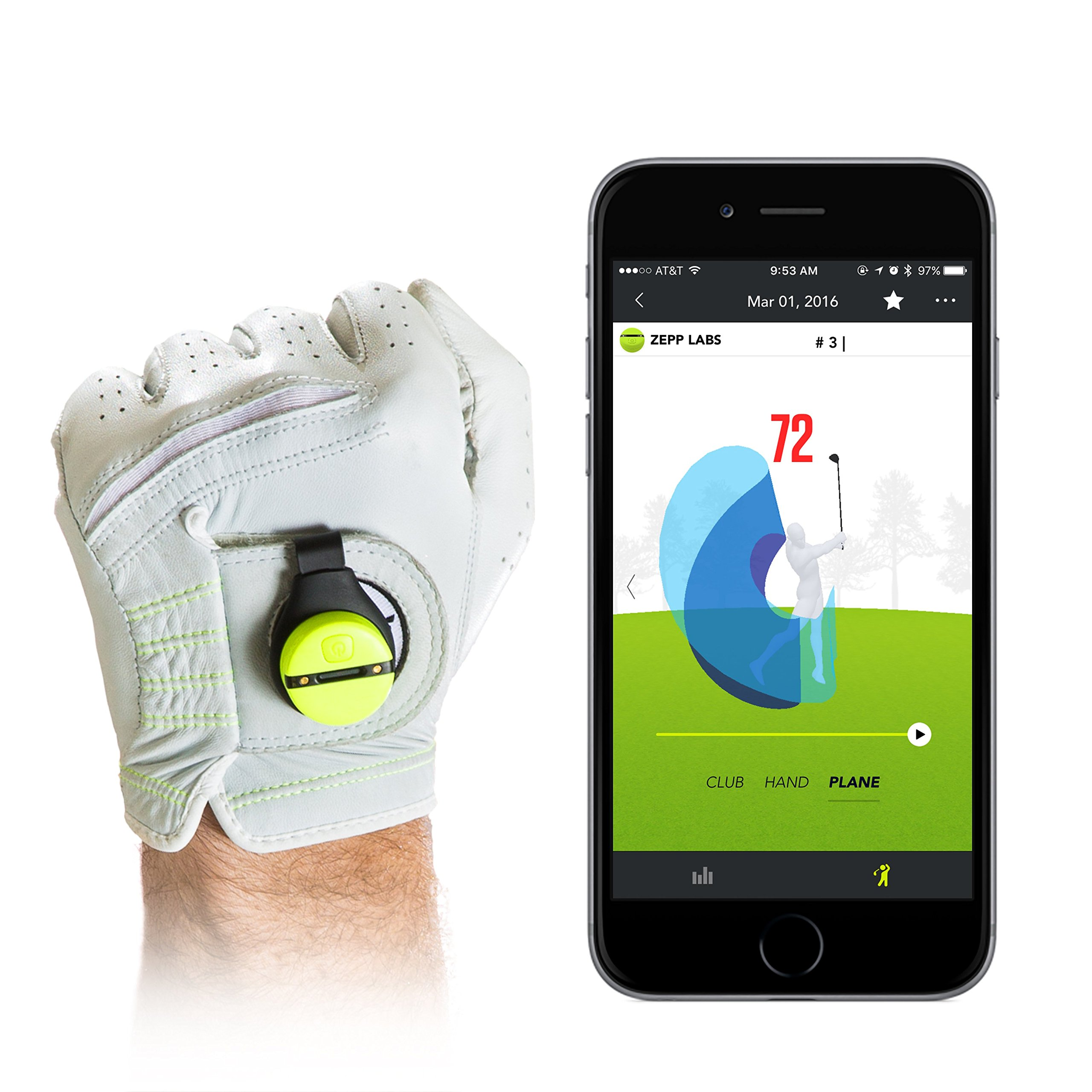 Zepp Golf 2 3D Swing Analyzer by Zepp