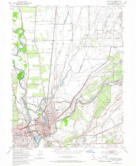 Map Of California Yuba City.Amazon Com Yellowmaps Yuba City Ca Topo Map 1 24000 Scale 7 5 X