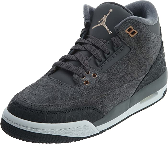 free shipping 4bce6 1e556 Jordan Nike Air 3 Retro GG Lifestyle Casual Sneakers - 4