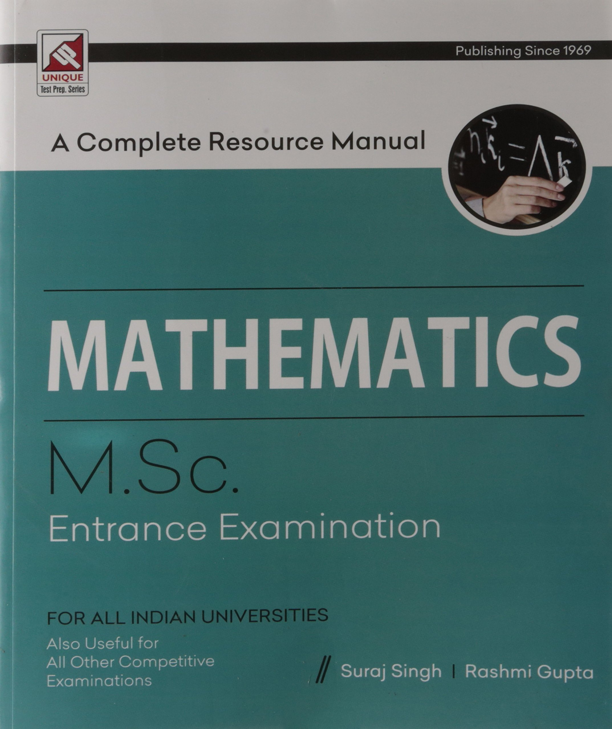 Buy Mathematics - A Complete Guide: M.Sc Entrance Examination Book ...