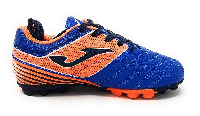 eda8289ce5ba Amazon.com: Joma Boots Girl Soccer Toledo JR 24 Studs 904 Royal Calcio  Scarpa: Sports & Outdoors