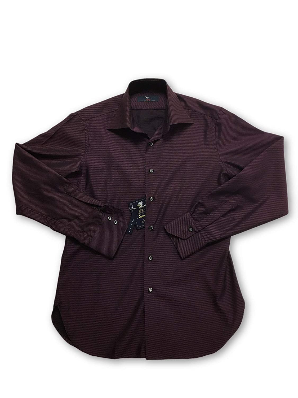 1f0f5667c8 Ingram Cottonstir Slim fit Shirt in in in Wine Purple Size 15 Cotton ...