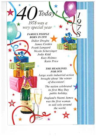 SIMON ELVIN 2018 SPECIAL YEAR YOU WERE BORN MALE BIRTHDAY CARDS