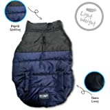 Pet Craft Supply Two-Tone Stylish Puffer Jacket for All Dogs
