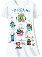Nightshirt - She Who Reads, One Size