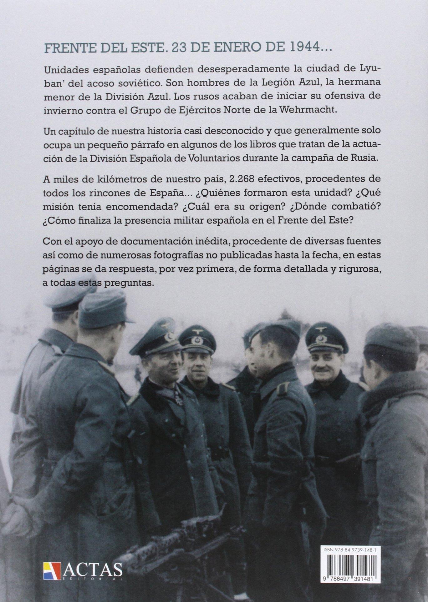 Legión Española De Voluntarios En Rusia: Amazon.es: Manuel Pérez Rubio: Libros