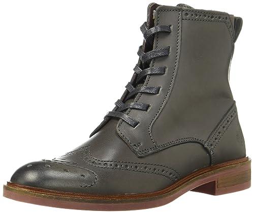 Boot, Botas Chelsea para Mujer, Gris (Dark Grey), 42 EU Marc O'Polo