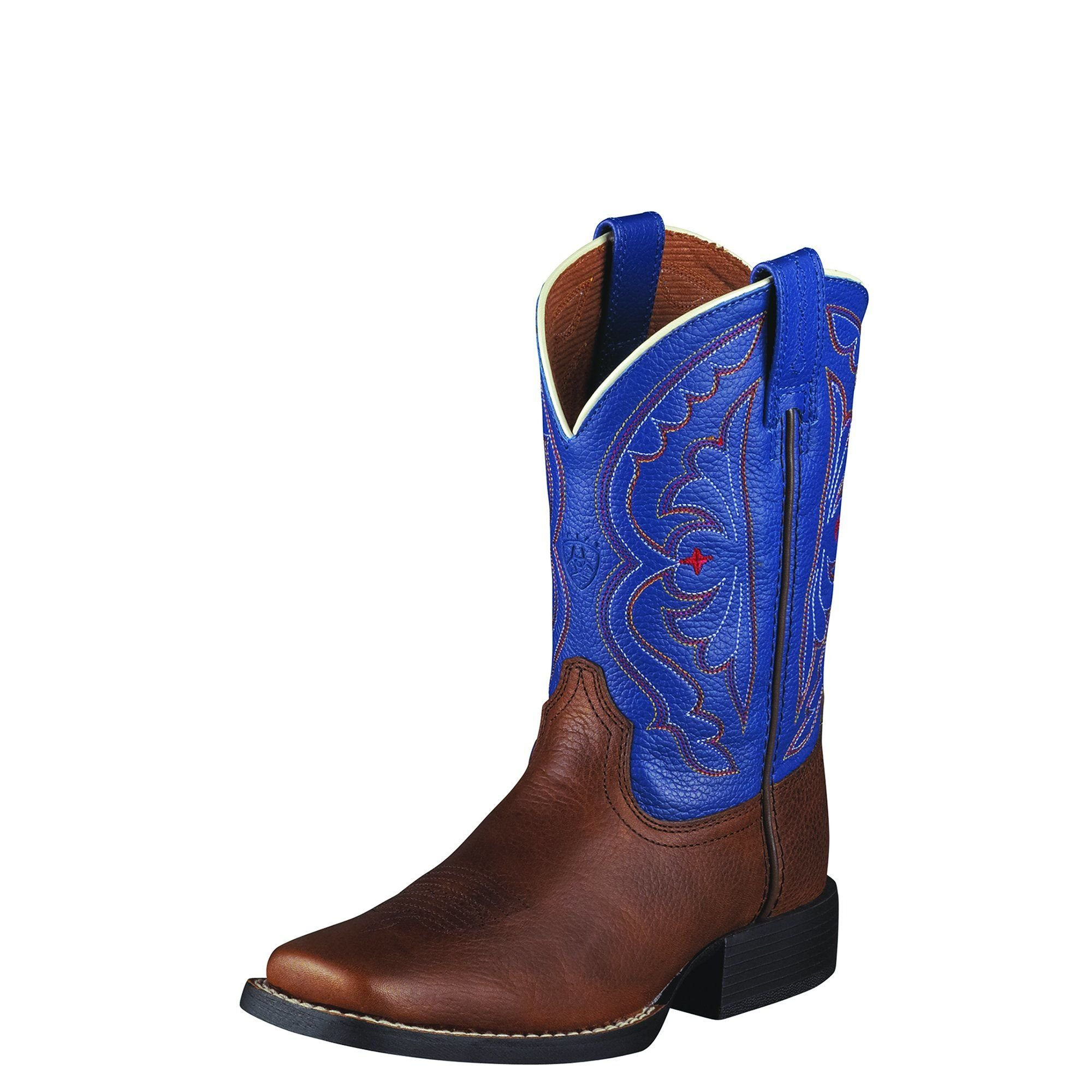 Ariat Girls Quickdraw Performance 6 M Brown Oiled Rowdy