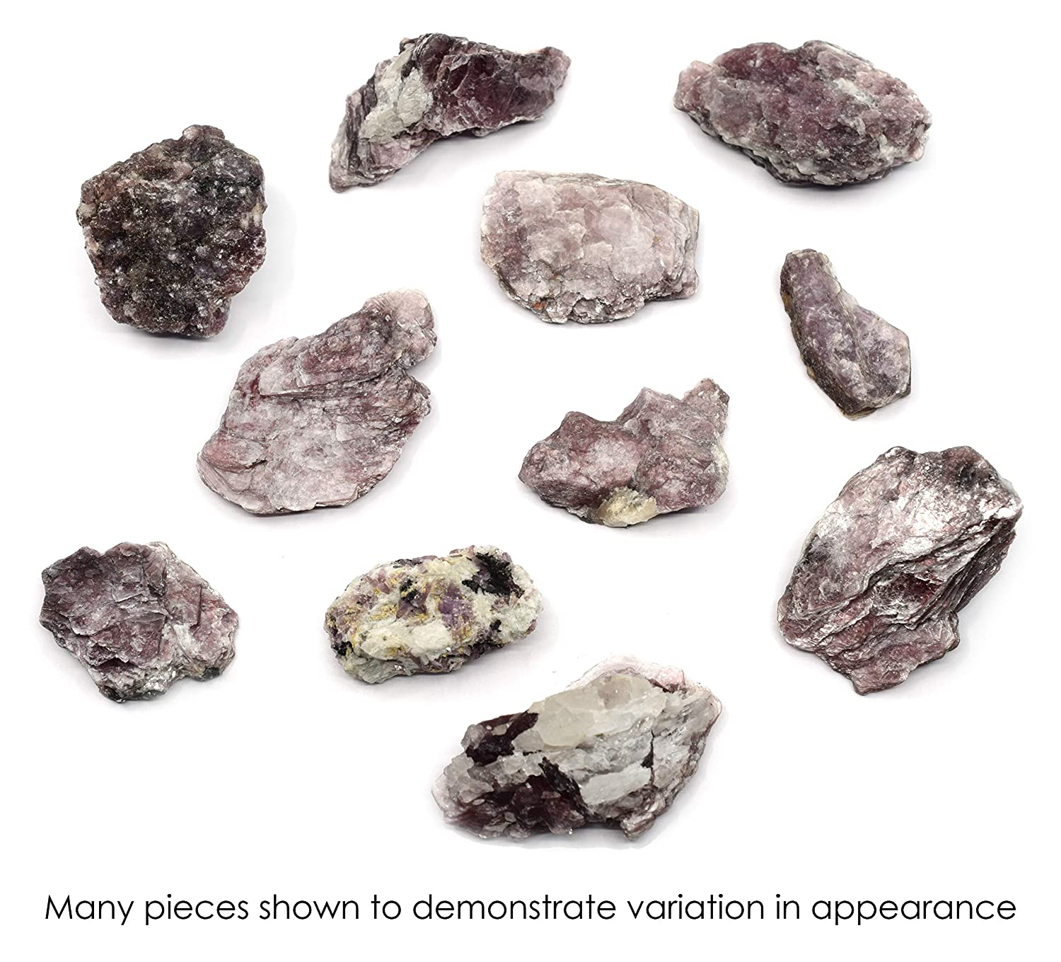 100/% Authentic Brazilian Purple Mica Raw Untreated Specimens 0.5-2oz 3 Pieces Purple Mica Natural The Artisan Mined Series by hBAR