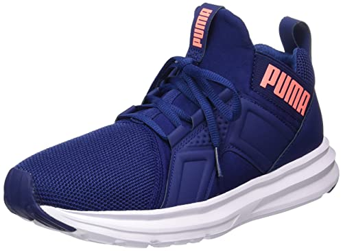 PUMA Womens Enzo Mesh Multisport Outdoor Shoes, Blue (Blue Depths-Nrgy Peach 01