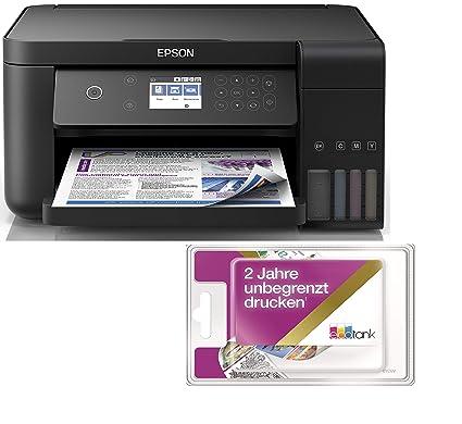 Epson EcoTank ET-3700 3-in-1 Inyección de Tinta Multifuncional ...