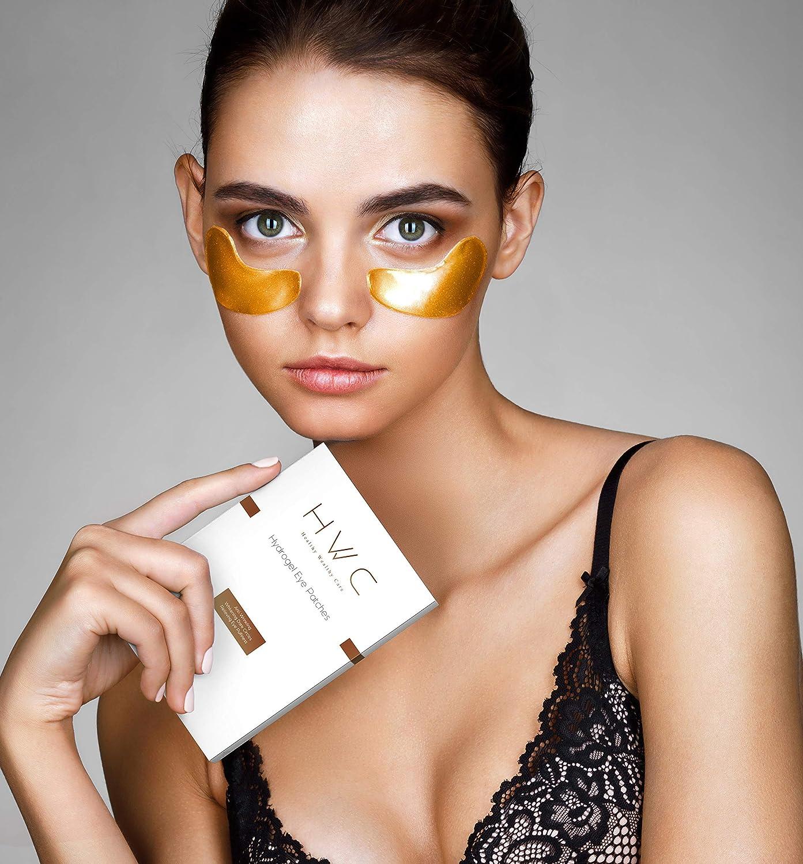 HWC Anti Wrinkle Eye Patches - Anti Aging - Eye Bag Removal - Dark Circles - Skincare - 6 x 12ml | Perfect Gift Ltd