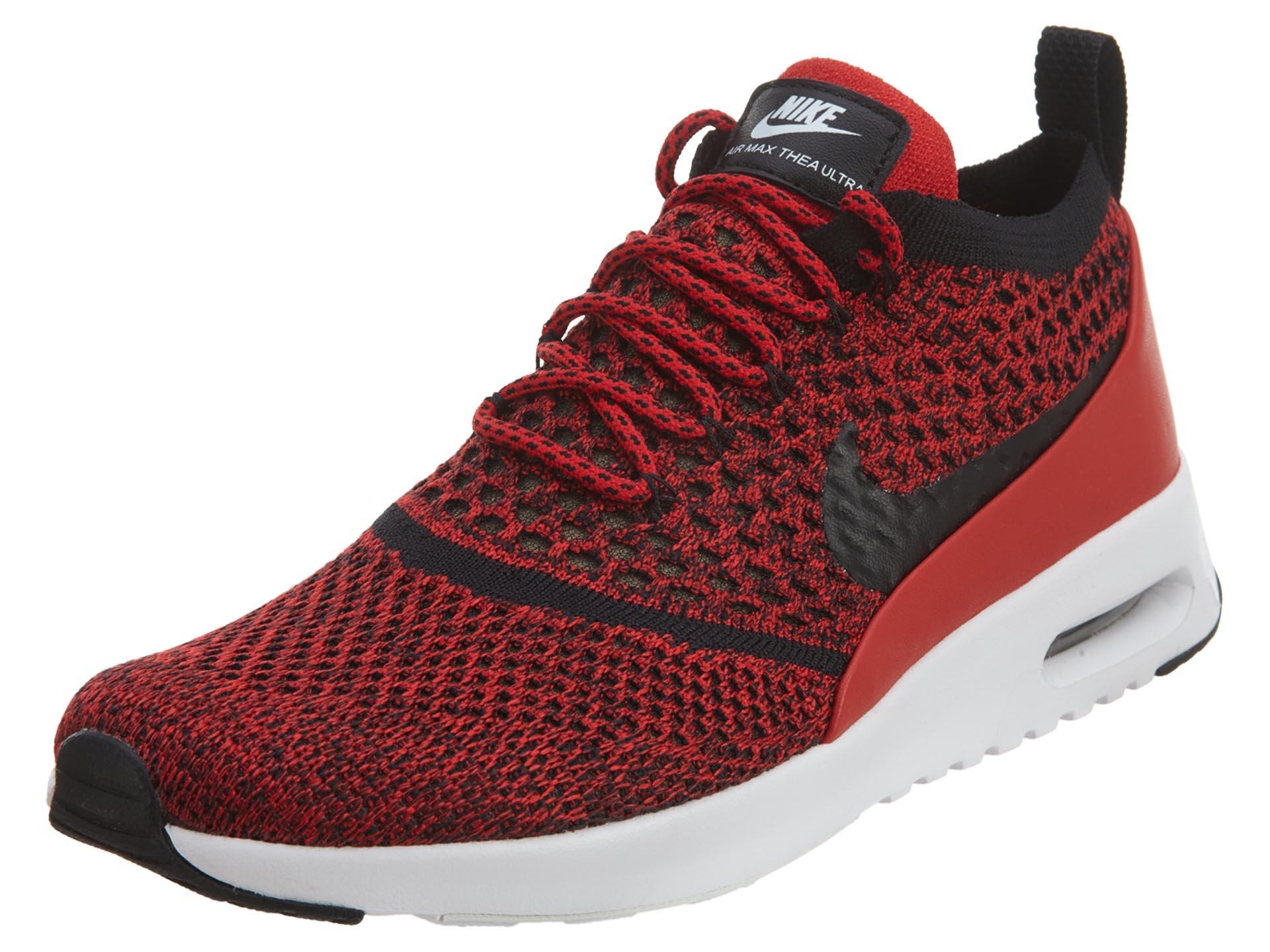 New Women Nike Air Max Thea Ultra Flyknit FK Crimson Raisen