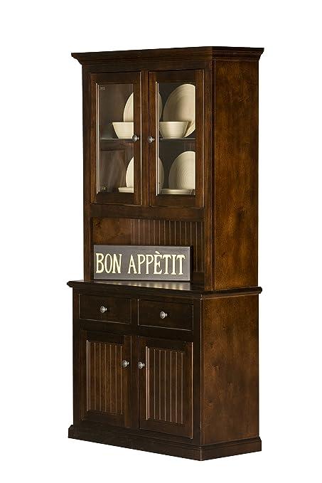 """Eagle Furniture Manufacturing Coastal Dining Buffet & Hutch, 40"""",  Antique Black - Amazon.com - Eagle Furniture Manufacturing Coastal Dining Buffet"""